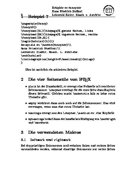 Index of /ctan/documentation/german/fancyhdr